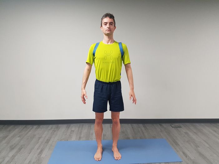 Yoga para el dolor de cuello 3