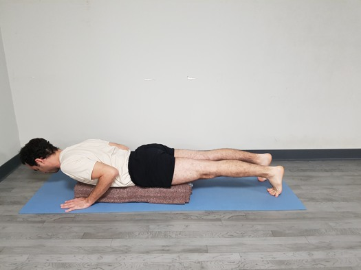 Chaturanga en mantas 2