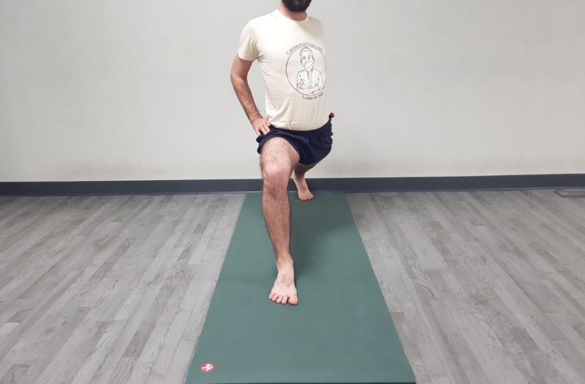 como hacer virabhadrasana