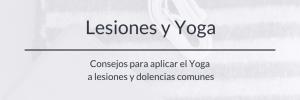 lesiones y yoga