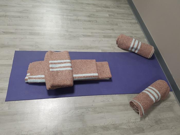 material para supta Baddha Konasana para el embarazo