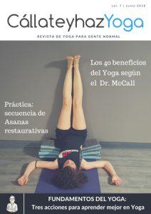 Portada de la revista de Yoga número 7