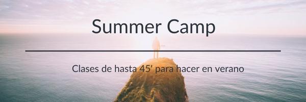 campamento de verano de yoga online