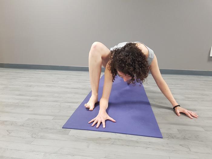 trabajamos en la flexibilidad de las caderas