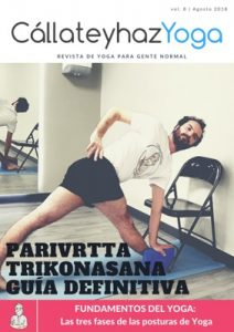 Portada de la revista de Yoga número 8
