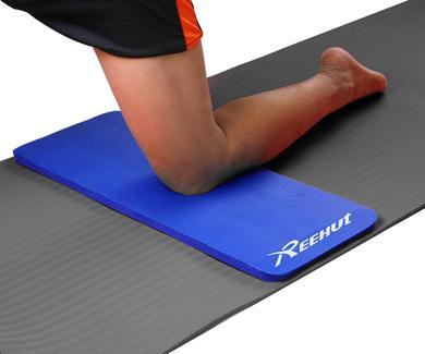 almohadilla para las rodillas en yoga