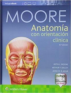 Anatomía con orientación cínica de Keith Moore