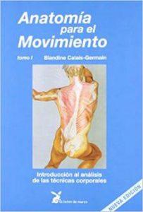 anatomia para el movimiento de Blandine Calais