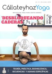 Portada revista de yoga diciembre 2018