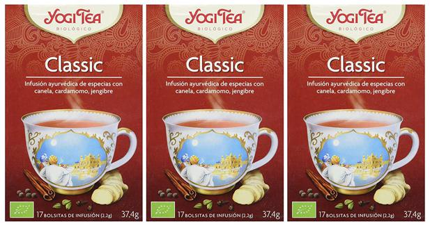 yogi tea clasico