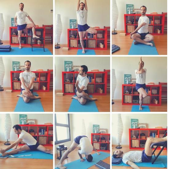 secuencia de Yoga para las caderas