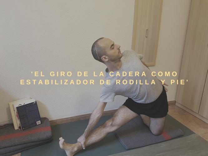 la cadera y el yoga