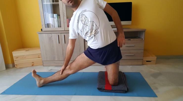 Cómo absorber, ahuecar o colar las ingles frontales en Yoga